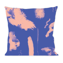 Abstract Blue Pink