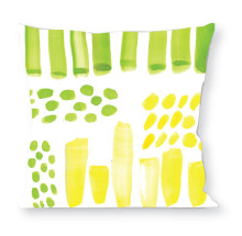 Abstract Green Yellow