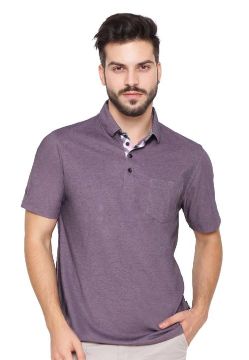Arnett Polo shirt fashion kantong tempel Pebble