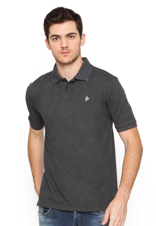 Osella Man Polo Shirt Solid Misty 81