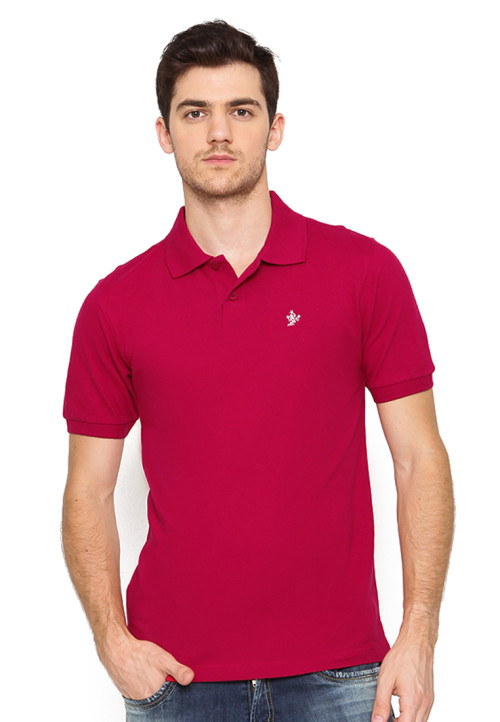 Osella Man Polo Shirt Solid Red