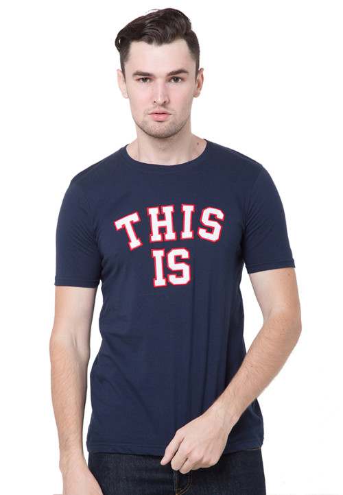 Osella Man T-Shirt Fashion This Is Navy