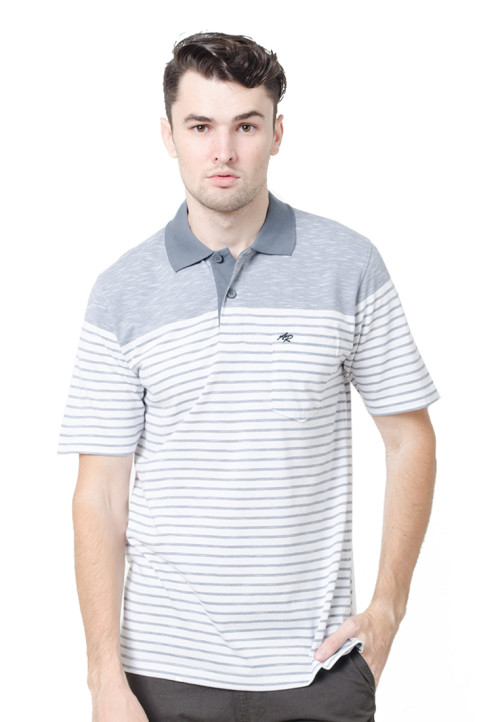 Arnett Polo Shirt Fashion Grey