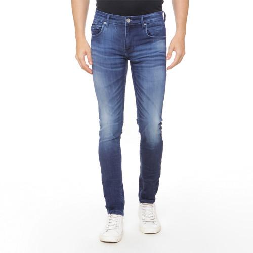 Osella Man Pants Long N/A denim  Skinny 035 HR Navy