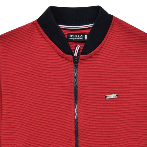 Red Jaket Polos Red Plat Besi Osella