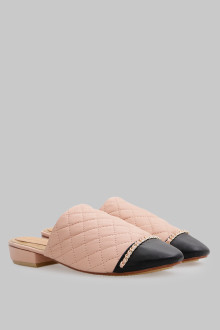Mules Stiches Pink