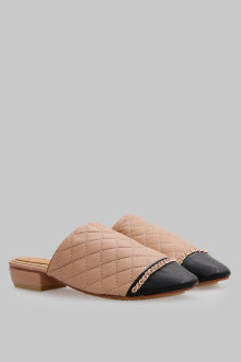 Mules Stichis Tan