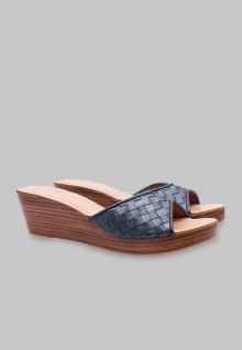Selop wicker navy 5 cm