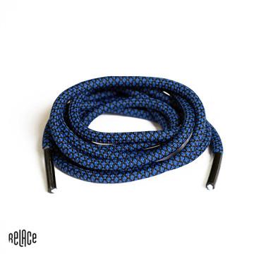 Blue/Black Rope Laces image