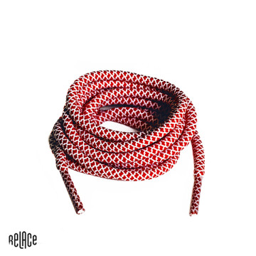 Red/White Rope Laces image