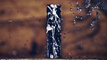 MIURA MOD BLACK WHITE SPLATTER