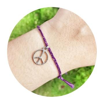 peace dark purple