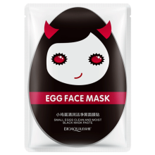 Egg Face Mask Black