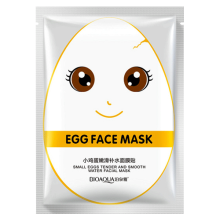 Egg Face Mask White