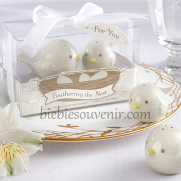 Feathering the Nest Salt Pepper image
