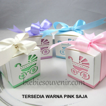 Baby Carriage Box (pink) image