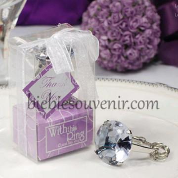 Purple Ring Keychain image
