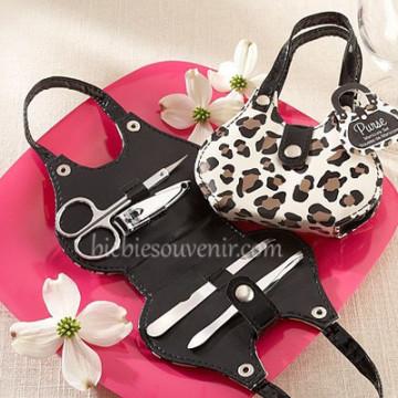 Cheetah Bag Manicure Set image