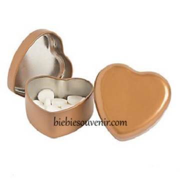 Gold Heart Tin Can image