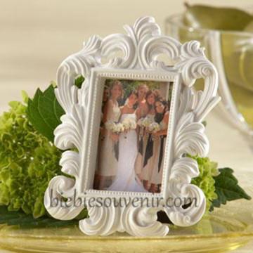 White Baroque Frame image