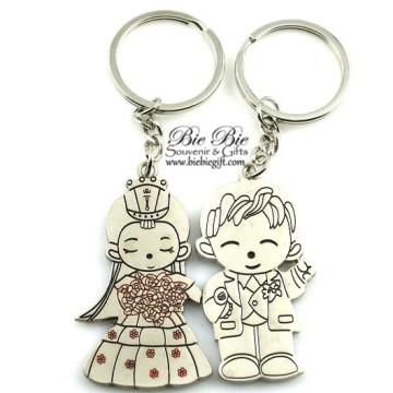 Korean Bride Couple Keychain CK43 image