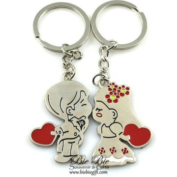 Holding Hearts Couple Keychain CK42 image