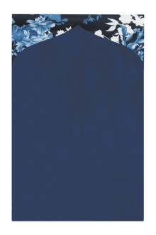Tiara Prayer Mat 009 Navy