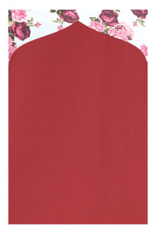 Tiara Prayer Mat 023 Maroon