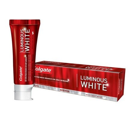 foto de CREME DENTAL COLGATE 70GR LUMINOUS WHITE BRILLIANT