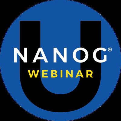 NANOG U Webinar