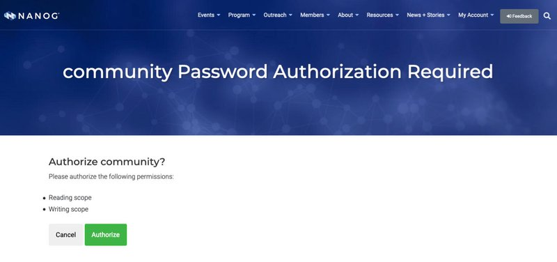 OAuth 2 Authorization Fixed