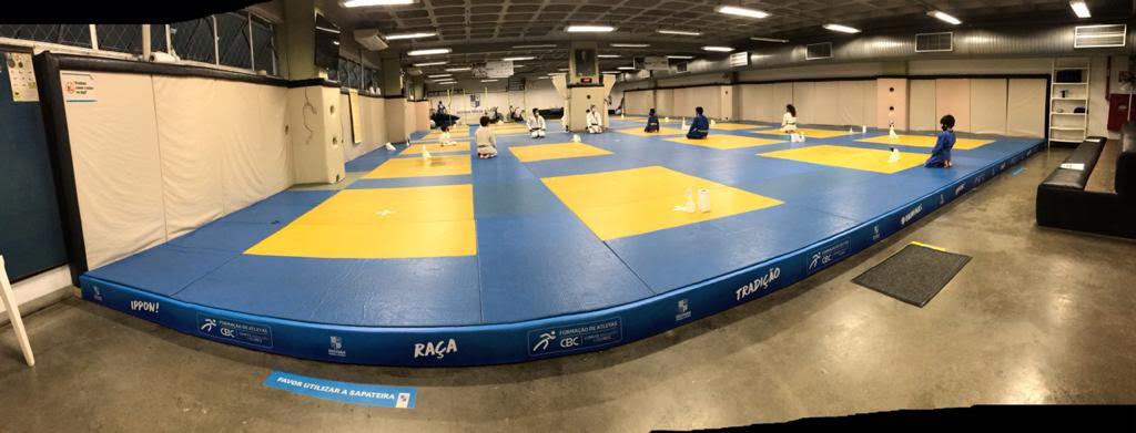 Centro de treinamento do judô recebeu novo sistema de amortecimento / Foto: Divulgação