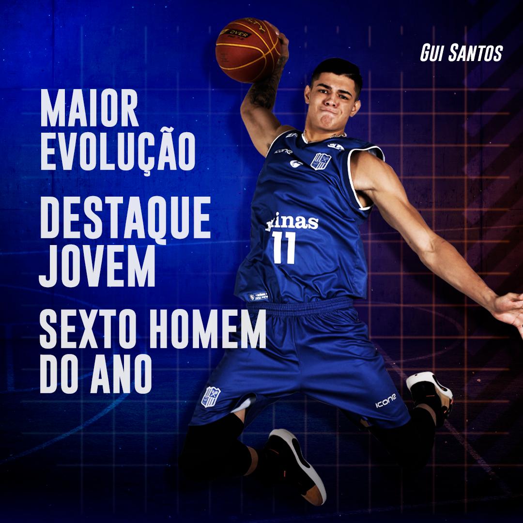 Gui Santos levou dois dos três prêmios em que foi indicado