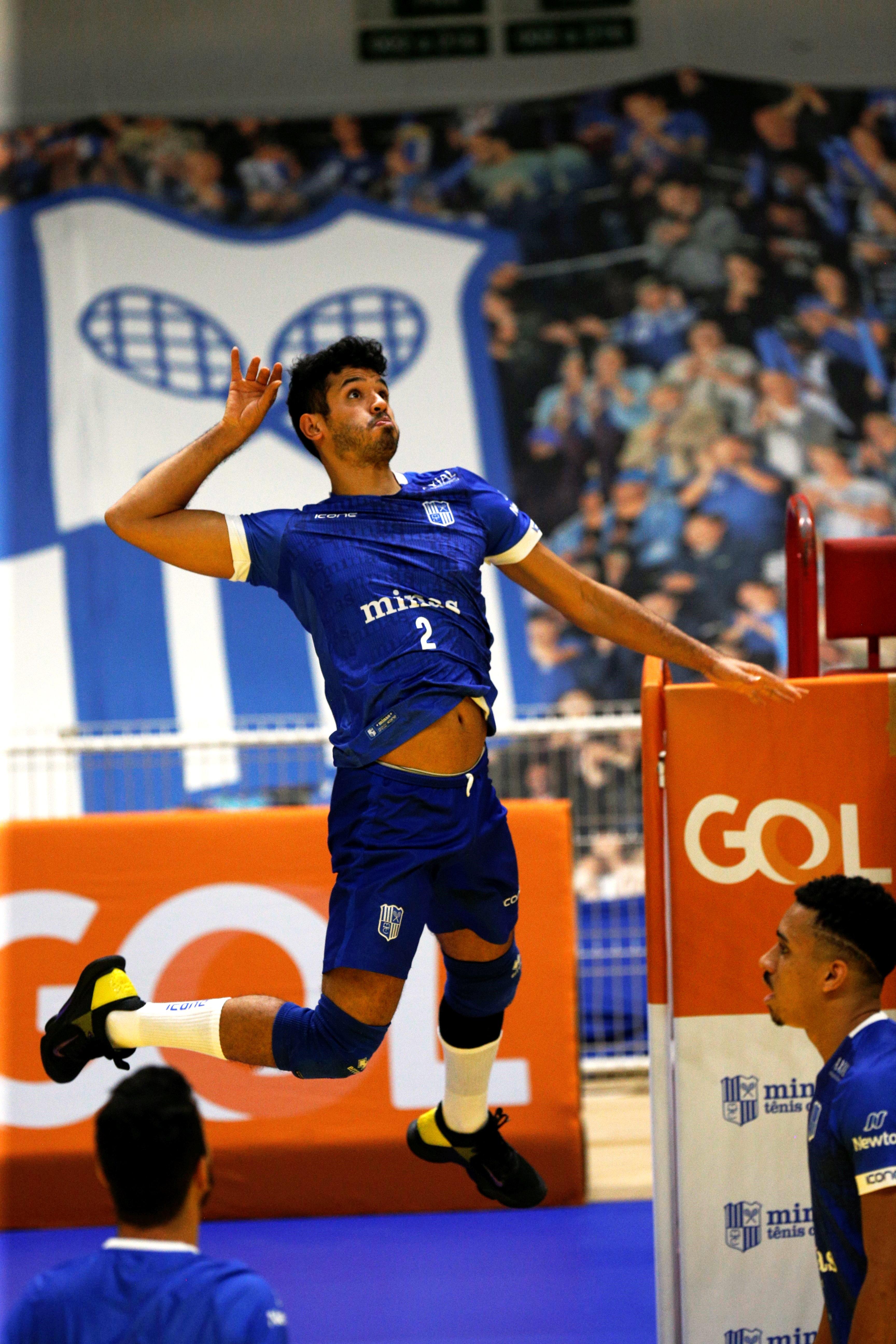 Nicolas Lazo acredita que a concentração é fundamental na partida deste domingo / Foto: Orlando Bento/MTC