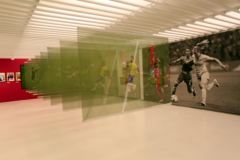 Instalação da exposição Instante Invisível. Foto: Orlando Bento