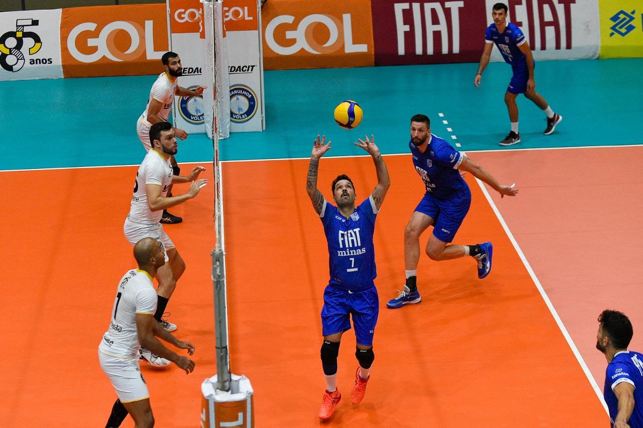Fiat/Minas assume terceira posição da Superliga (Foto: Duda Bairros)