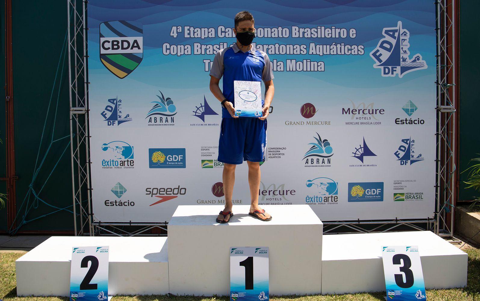 Benito Choucair com o passaporte de classificação para a Copa Pacífico