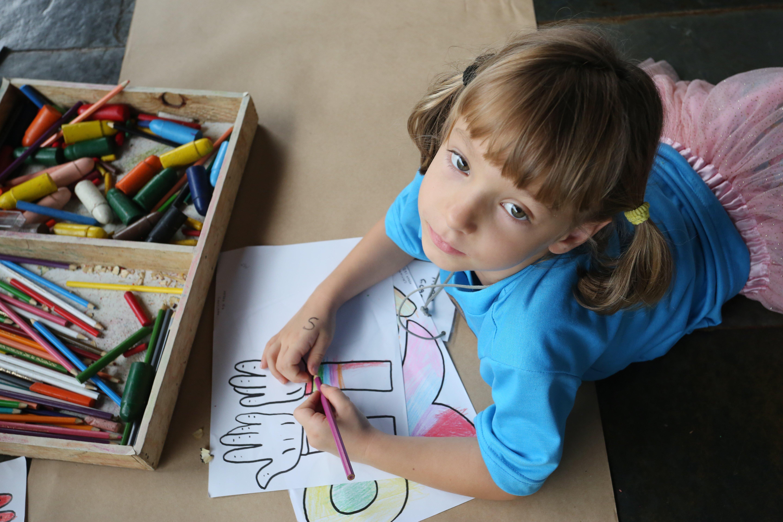Dia das Crianças 2020 é com concurso de desenho! Foto: Orlando Bento