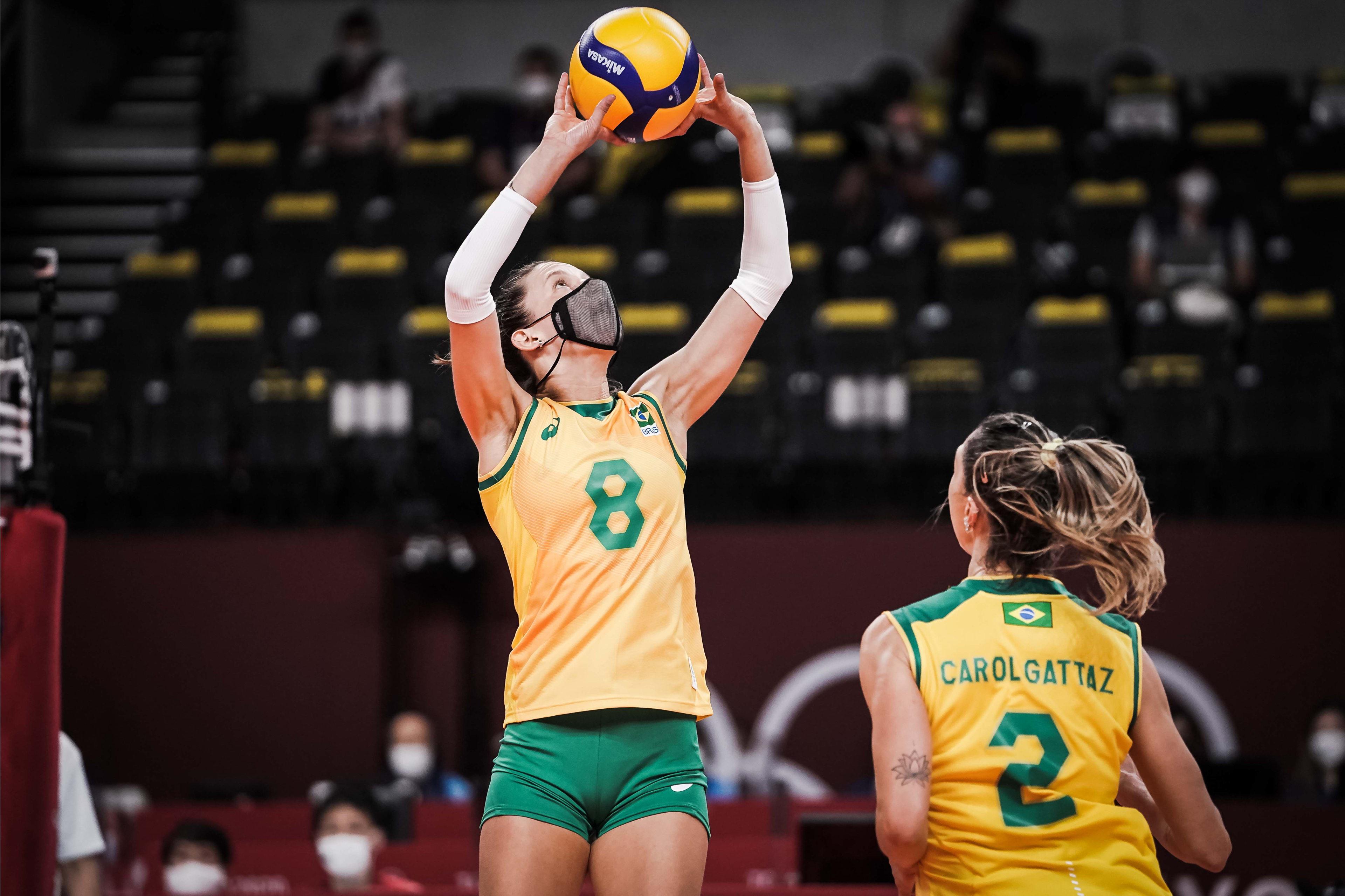 Atletas do Minas já garantiram medalhas em Tóquio (Foto: Divulgação/FIVB)