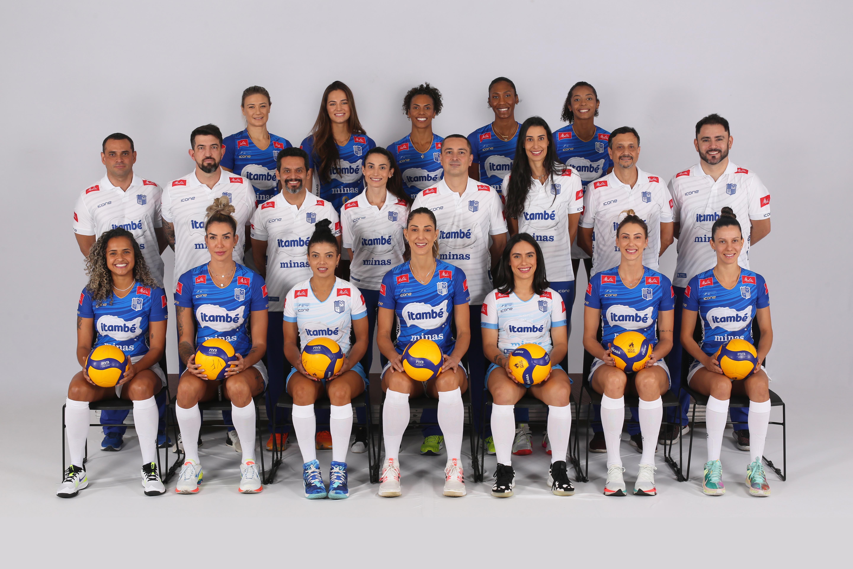 Itambé/Minas vai defender quatro títulos nesta temporada (Foto: Orlando Bento/Minas Tênis Clube)