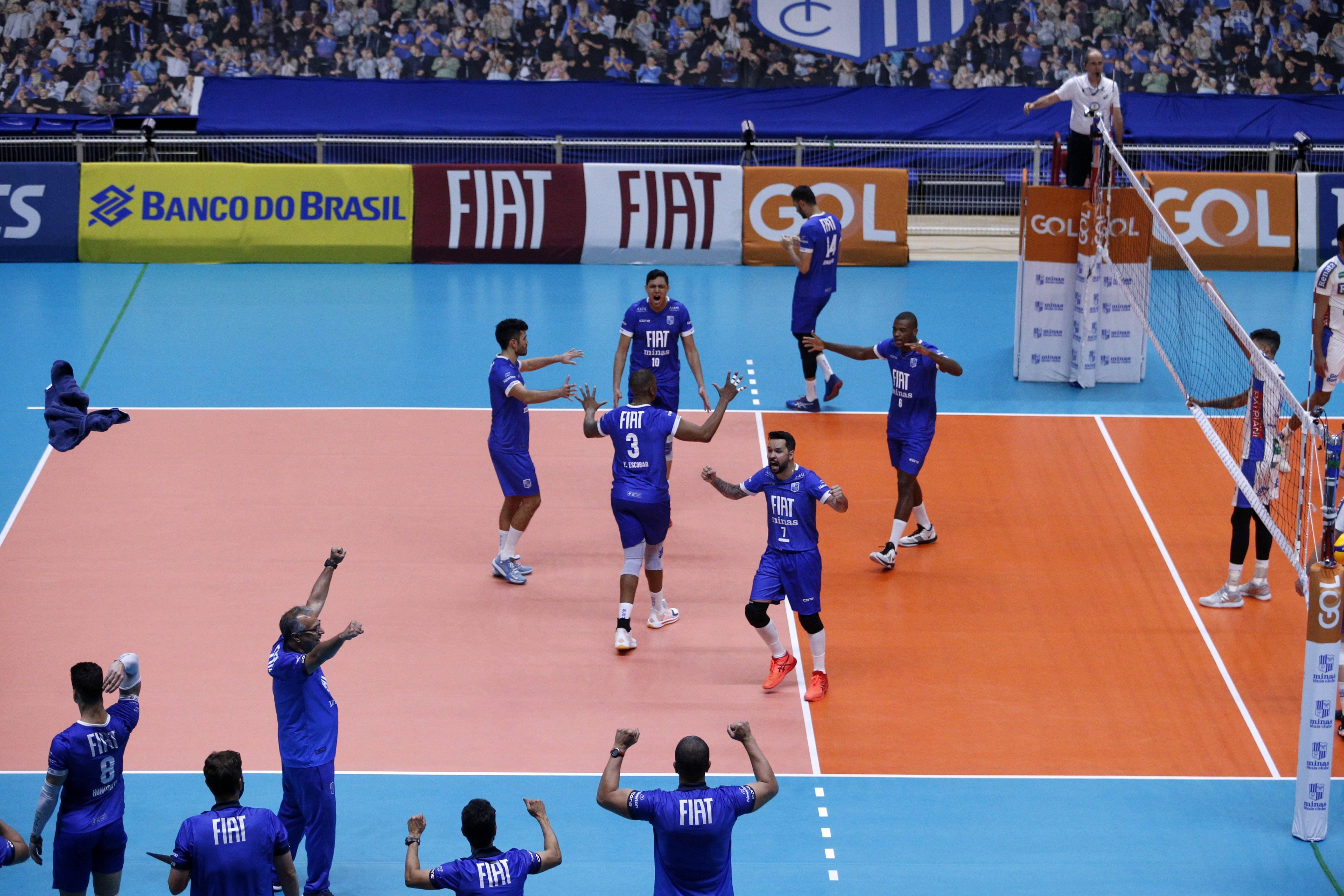 Fiat/Minas comemora mais uma vitória na Arena MTC / Foto: Orlando Bento/MTC