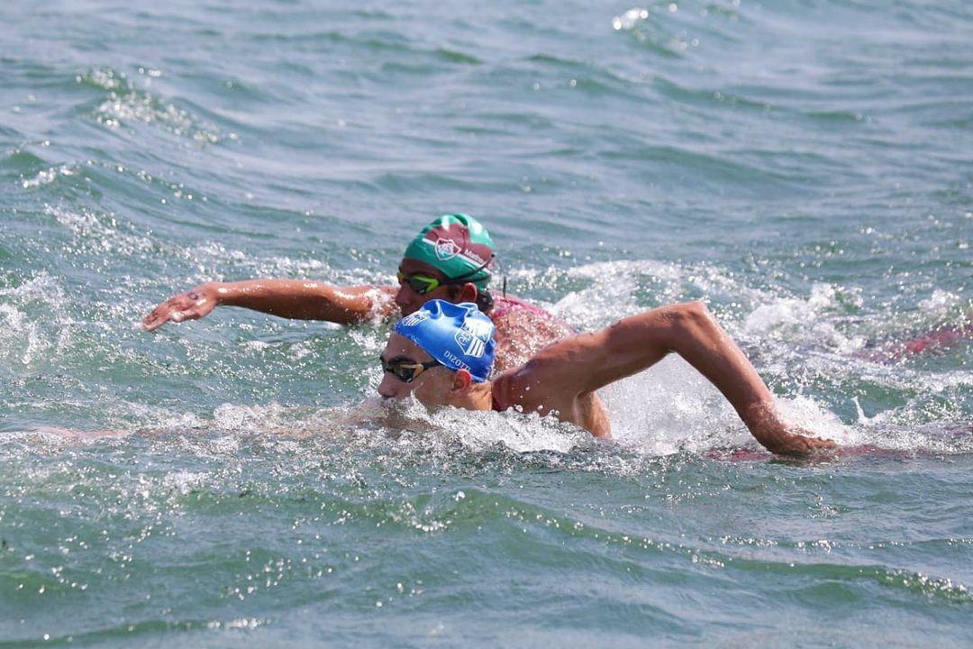 Marcelo Araujo durante a 4ª etapa do Campeonato Brasileiro de Maratonas Aquáticas