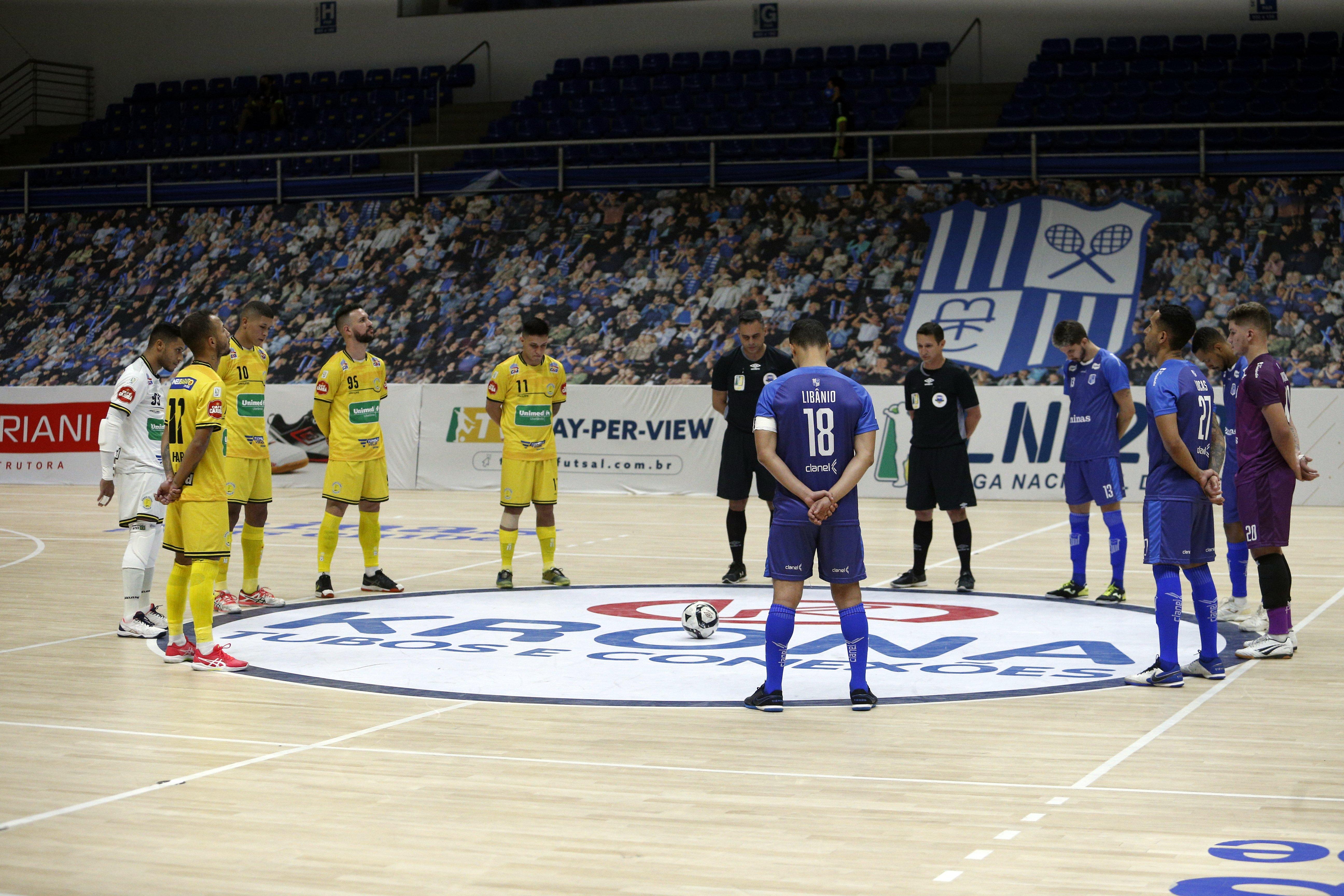 Equipes fizeram duelo digno de clássico na Arena MTC (Foto: Orlando Bento/Minas Tênis Clube)
