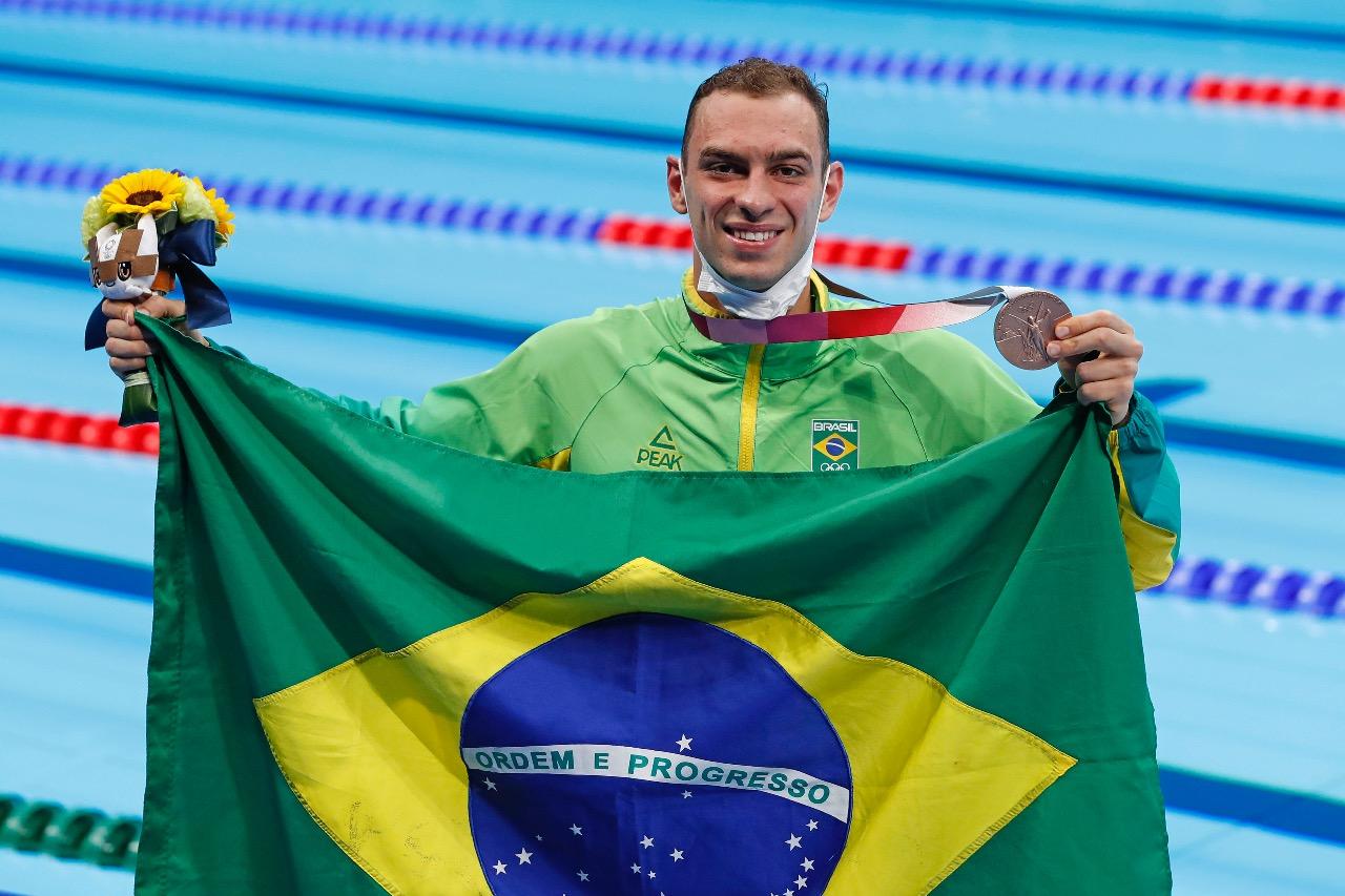 Nadador minastenista marcou seu nome na historia da natação brasileira / Fotos: Satiro Sodré/SSPress/CBDA