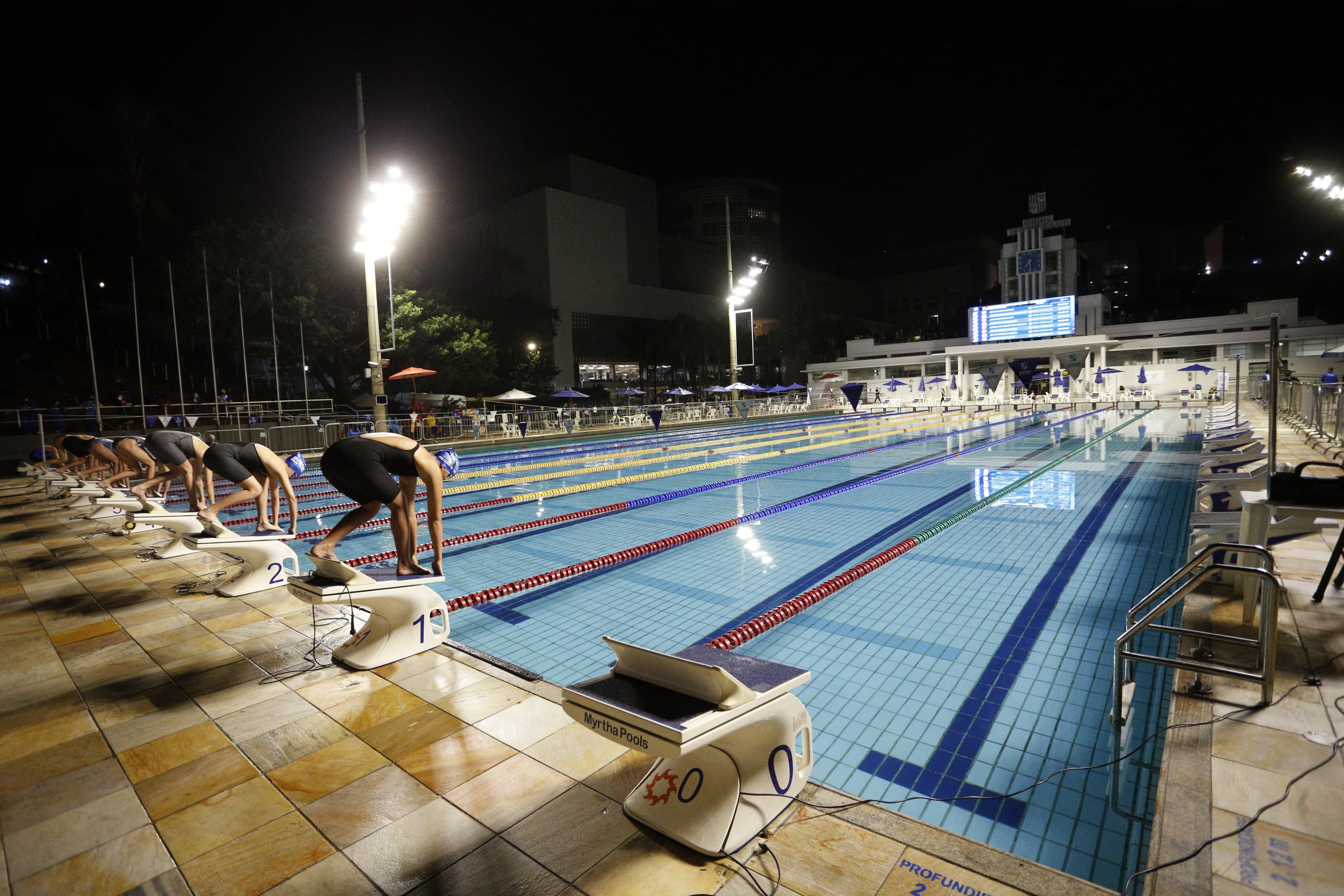 Parque Aquático do Minas I recebe novamente o Torneio Metropolitano / Fotos: Orlando Bento/MTC