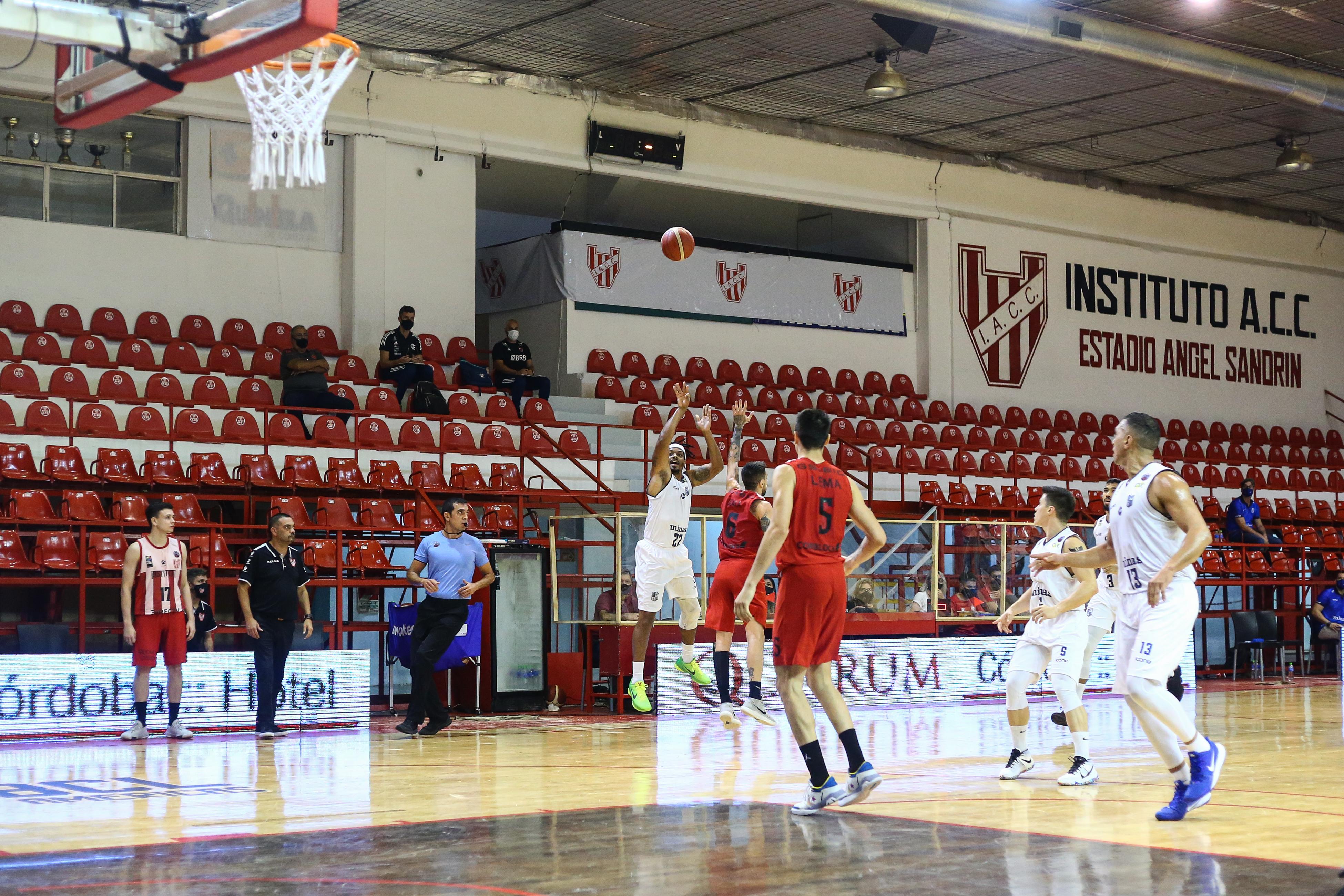 Minas garantiu vaga na próxima fase como segundo colocado do grupo D (Foto: Leonardo Gomez)
