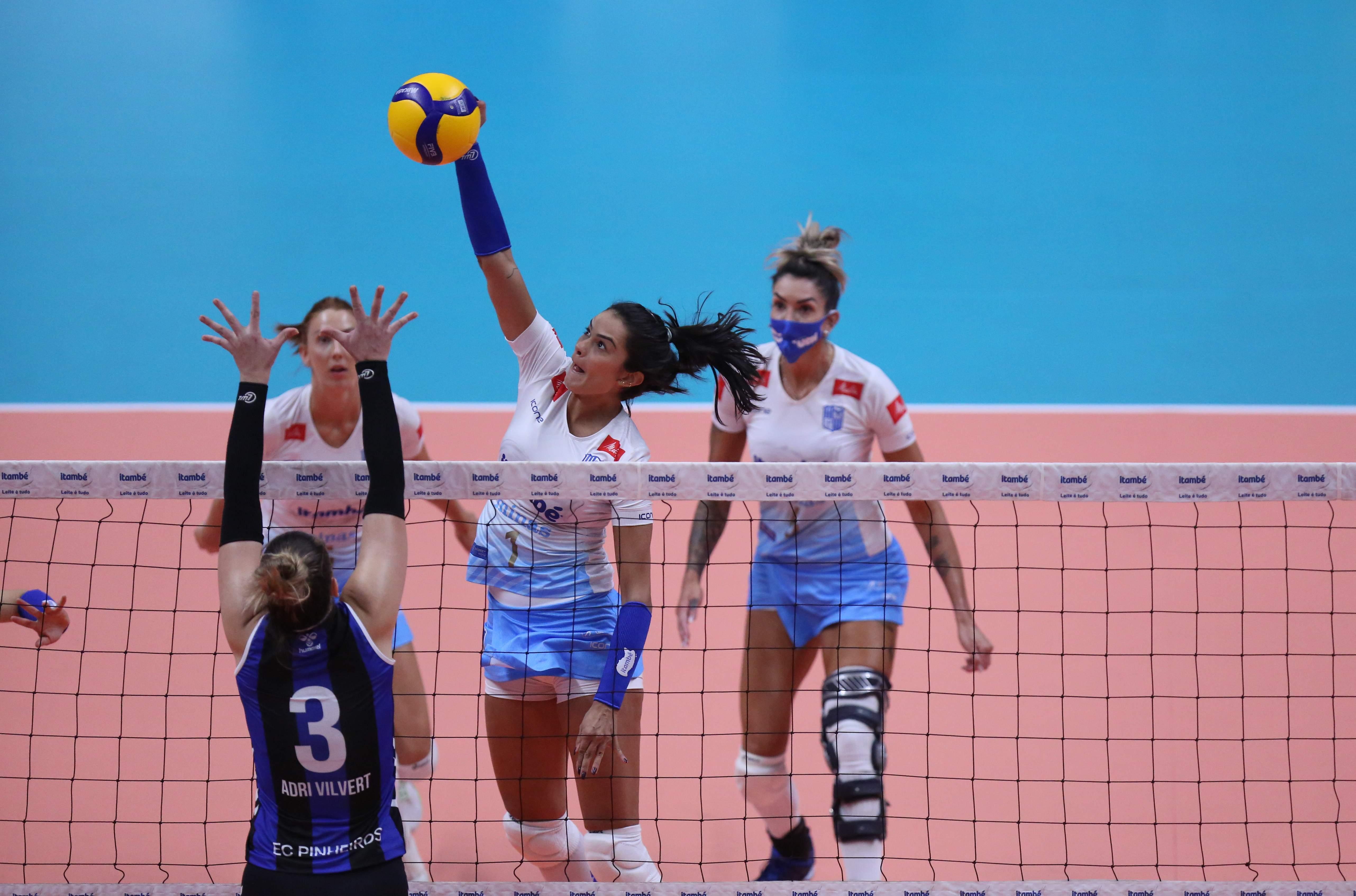 Lara Nobre foi um dos destaque do Itambé/Minas (Foto: Orlando Bento/MTC)