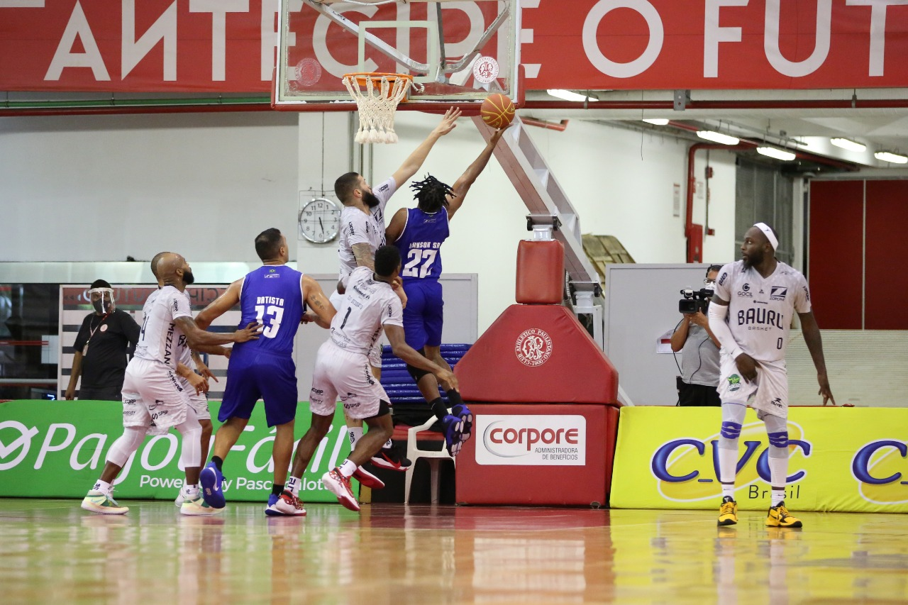 Com forte poder de ataque, Minas superou mais um adversário no NBB (Foto: Wilian Oliveira/FotoAtleta)