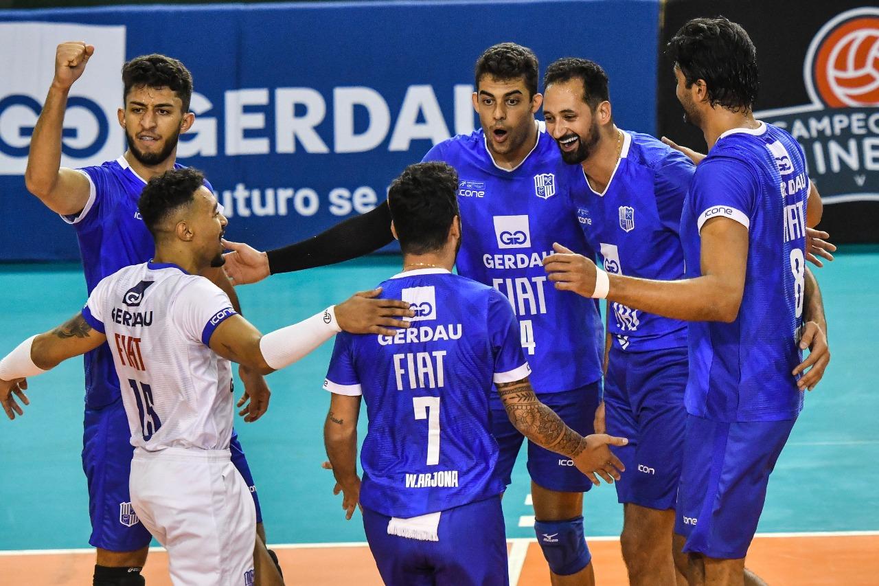 Fiat/Gerdau/Minas está na final do Campeonato Mineiro (Foto: Uarlen Valério/MTC)