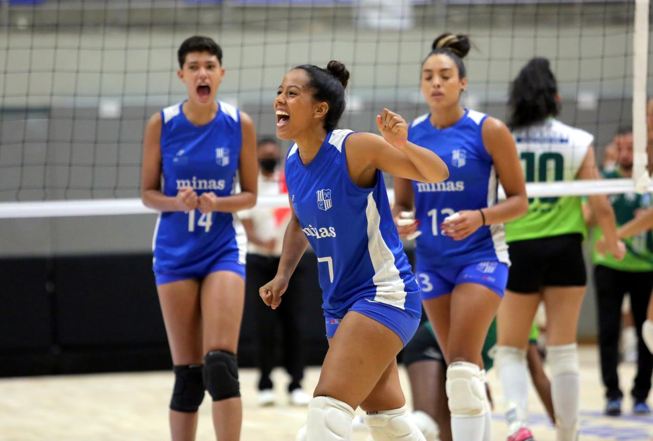 Líbero Luanna é uma das convocadas para a seleção brasileira Sub-20 (Foto: Divulgação/MTC)